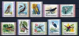 Montserrat, Yvert 231a/239a, Scott 231a/239a; SG 243a/254a,  MNH - Montserrat