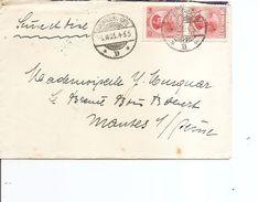 Luxembourg ( Lettre De 1925 De Luxembourg-gare Vers La France à Voir) - Luxembourg