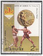 DPR Korea 1976 Sc. 1491 XXI Olimpiade Montreal Medaglie D ' Oro Pugilato Boxing Ku Yong Jo  Gold Winners - Estate 1976: Montreal