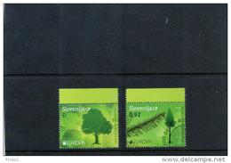 Slowenien / Slovenia Jahr / Year 2011 Europa Cept Satz / Set Sauber Gestempelt / Fine Used - Europa-CEPT