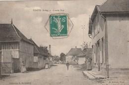 VINETS - LA GRANDE RUE - BELLE CARTE - PETITE ANIMATION - 2 SCANNS - TOP !!! - Autres Communes