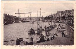Nantes Et Ses Changements Avant 1930 La Loire à La Petite Hollande Partie Comblée Depuis - Nantes