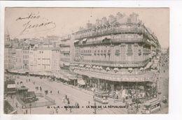 Cpa Carte Postale Ancienne - Marseille Rue De La Republique 15 - Marsella