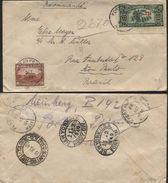 HAITI Registered Cover PORT AU PRINCE To Brasil (!!) 1940 (913) - Haïti