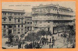 Almeria Spain 1910 Postcard - Almería