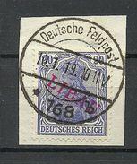 German Occupation 1919 Latvia Libau Michel 4 B (OPT Type II) O Perfect Cancel Signed - Lettonia