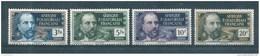 France Colonie  Timbres  D´AEF De 1937/42  N°59 A 62  Neufs ** - A.E.F. (1936-1958)
