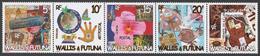 Wallis And Futuna 838-42** POSTAL ART - Ungebraucht