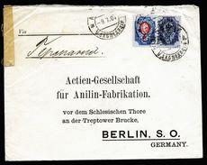 A4752) Russia Russland Brief Von Japanischer Firma über Moskau 1907 Nach Berlin - 1857-1916 Imperium