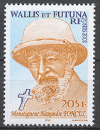 Wallis And Futuna 858** BISHOP ALEXANDRE PONCET - Wallis Und Futuna