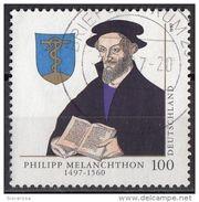 Germania 1997 Sc. 1955 Philipp Melanchthon Deutschland Riformatore Protestante - Teologi