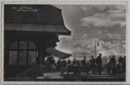 Les Pleiades - Terrasse Du Buffet - Animee - Photo: Perrochet No. 1952 - VD Vaud