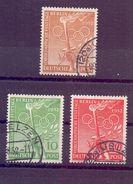 Berlin 1952 - Vor-Olympiade - Mi.Nr.88/90 Rund Gestempelt - Michel 45,00 € (022) - Used Stamps