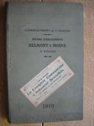 1919 - CATALOGUE FORGES ET ACIERIES DE ST FRANCOIS à ST ETIENNE - BELMONT & MOINE - 224 Pages - 1901-1940