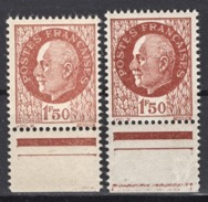FRANCE 1941 - Y.T. N° 517 X 2 NUANCES - NEUFS** /K121 - Francia