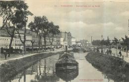 TOULOUSE BOULEVARD DE LA GARE  AVEC PENICHE EDITION LABOUCHE - Toulouse