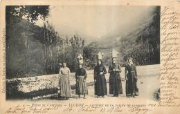 LUCHON LAITIERES DE LA VALLEE DE LARBOUST  1902 - Luchon