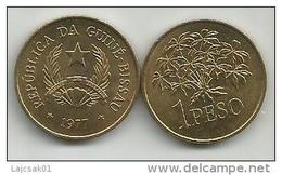 Guinea Bissau 1 Peso 1977. UNC/AUNC  FAO - Guinea-Bissau