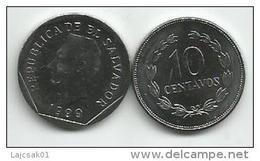 El Salvador 10 Centavos 1999. UNC - Salvador