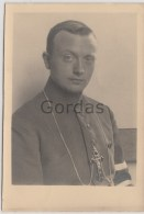 France - Mezieres - 1917 - Pfarrer - Priest - Photographie