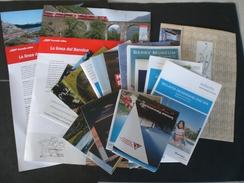 Brochure DEPLIANTS LIBRETTI TURISTICI D INFORMAZIONE STAGIONE ESTIVA E INVERNALE SAINT MORITZ SAN MAURICE 2017/18 - Folletos Turísticos