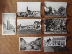 Lot De 7 Cartes De ESTINNES AU MONT ( Panorama Village Chaussée Brunehaut Plage Rue Grande Eglise Rivière ) - Estinnes