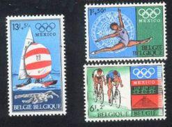 Belgique JO De Mexico 1968 TP De 1968 MNH ** à 50 % - Sommer 1968: Mexico