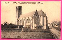 Damme - Église N.D. Érigée En 1220 Agrandie Vers 1300 Restaurée En 1906 - NELS - C. HOBUS - 1931 - Damme