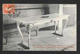 TOUL Rare Table De La Reddition De La Ville En 1870 (Café Du Bosquet) Meurthe & Moselle (54) - Toul