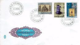 Schaken Schach Chess Ajedrez - Luxemburg Lëtzebuerg Luxembourg 1981 - Echecs