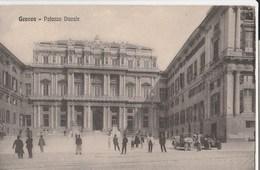 13233) GENOVA PIAZZA UMBERTO I  E PALAZZO DUCALE NON VIAGGIATA 1925 CIRCA - Genova