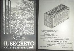 IL SEGRETO DELLE CURE NATURALI  IL TE FRANKLIN  ED. DELFINI MILANO TIP. POPOLO D'ITALIA OPUSCOLO  DI 16 PAG. CON FOTO - Médecine, Biologie, Chimie