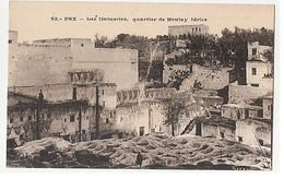 AFRICA - MOROCCO - FEZ - REMPARTS DES CHERARDAS - 1910s  ( 1917 ) - Cartes Postales