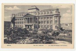 RIO DE JANEIRO - LA BIBLIOTHEQUE NATIONALE  - EDIT LITO TIPO GUANABARA ( 1793 ) - Cartes Postales