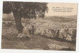 MOROCCO - FEZ - VUE GENERALE PRISE DES OLIVIERS DE BAB FTOUH - 1910s  ( 1919 ) - Cartes Postales