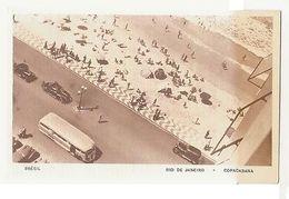 RIO DE JANEIRO - COPACABANA - EDIT LITO TIPO GUANABARA ( 1797 ) - Cartes Postales