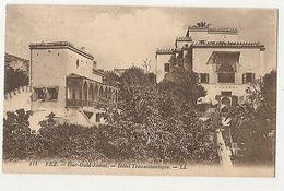 MOROCCO - FEZ - DAR-OULD-JAMAI - HOTEL TRANSATLANTIQUE - 1910s  ( 1922 ) - Cartes Postales