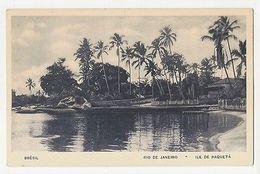 RIO DE JANEIRO - ILE DE PAQUETA'  - LA NUIT - EDIT LITO TIPO GUANABARA ( 1788 ) - Cartes Postales