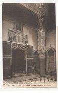 MOROCCO - FEZ - INTERIEUR ARABE DANS LA MEDINA - PHOTO BOUSHIRA 1910s  ( 1921 ) - Cartes Postales