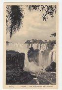 BRAZIL - PARANA - VUE DES CHUTES DE L'IGUASSU - EDIT LITO TIPO GUANABARA ( 1786) - Cartes Postales