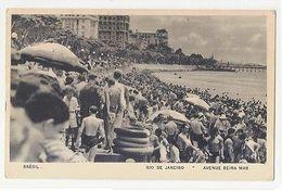 RIO DE JANEIRO - AVENUE BEIRA MAR - EDIT LITO TIPO GUANABARA  (1779 ) - Cartes Postales