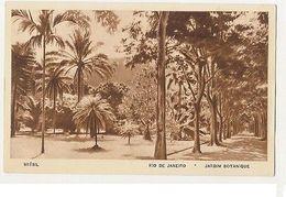 RIO DE JANEIRO - JARDIM BOTANIQUE - EDIT LITO TIPO GUANABARA ( 1798 ) - Cartes Postales