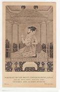 INDIA - MOGUL SCHOOL - PORTRAIT OF THE MOGUL EMPEROR SHAH JAHAN - 1910s ( 1901 ) - Postcards