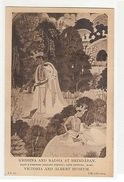 INDIA - RAJPUT SCHOOL - KRISHNA AND RADHA AT  BRINDABAN - 1910s ( 1907 ) - Postcards