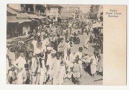 INDIA - NATIVE STREET SCENE - 1900s  ( 1762 ) - Postcards