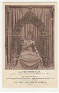 INDIA - THE WHITE TARA - TIBETAN MONASTIC WORK  - 1910s ( 1921 ) - Postcards