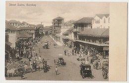 INDIA -  STREET SCENE - 1900s  ( 1976 ) - Postcards