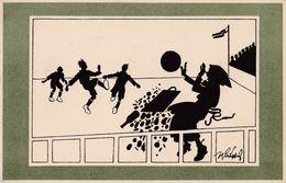 COMIC : FOOTBALL - ACCIDENT ! - ARTIST SIGNED / ILLUSTRATION SIGNÉE : SCHÖNPFLUG / SCHOENPFLUG - B.K.W.I. 260-3 (w-516) - Schoenpflug, Fritz