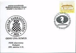 Schaken Schach Chess Ajedrez - Ungarn Hungary Hongarije - Budapest 1993 - Echecs