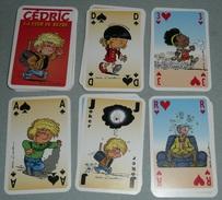 Rare Jeu De 54 Cartes BD Cédric, La Cour De Récré, Cauvin, Laudec, Joker As De Pique Of Spade - Group Games, Parlour Games
